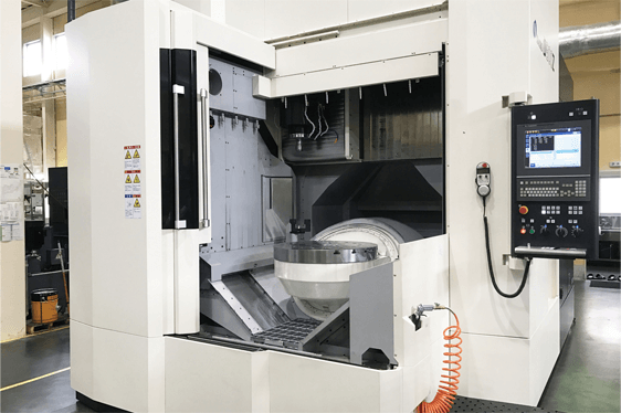 D800Z, a 5-axis vertical machining center